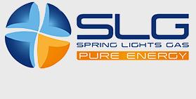 spring lights gas logo